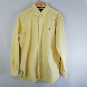 Ralph Lauren Mens Classic Fit Button Down Dress